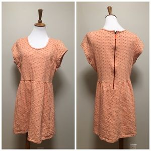>> Maison Jules Polka Cotton Orange Dress XL